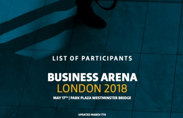 Business Arena London: the first list of participants