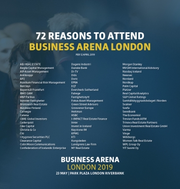 72 reasons to attend Business Arena London