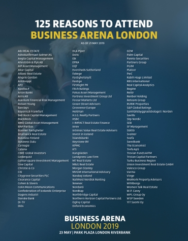 125 reasons to attend Business Arena London