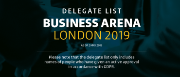 BA London: the second delegate list