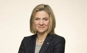 Magdalena Andersson inleder Business Arena Malmö 2014