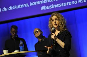 Catharina Thörn på Business Arena Göteborg 2014