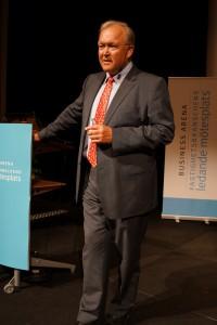 Göran Persson på Business Arenas partnerträff 2012