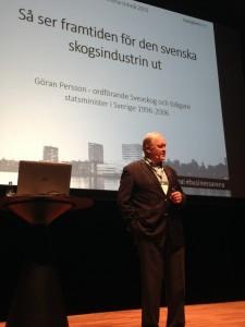 Göran Persson på Business Arena Umeå 2015