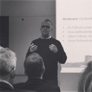 Po Tidholm på Business Arena Umeå 2015