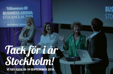 Tack för i år Stockholm – vi ses 2019!