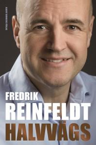 Fredrik Reinfeldt. Halvvägs. Omslagsformgivare: Jens Andersson