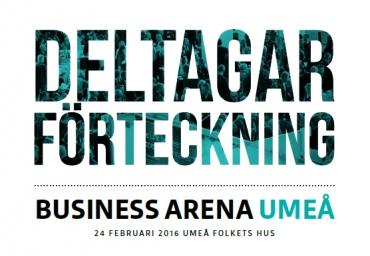 Se uppdaterade deltagarförteckningen för Umeå