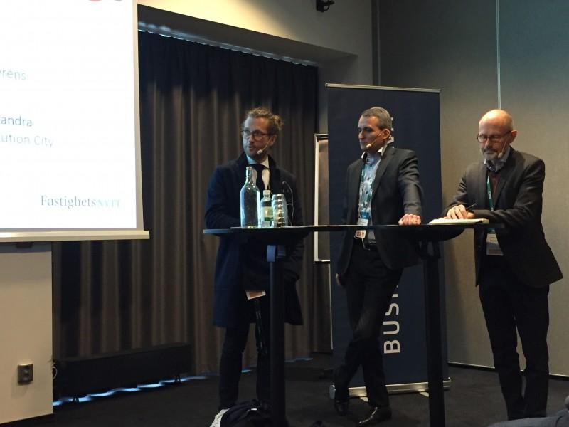 Från vänster: Magnus Thure Nilsson, Rikard Jacobsson, Christer Larsson