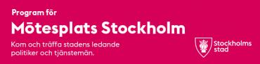 Stockholms stads mötesplats på Business Arena Stockholm
