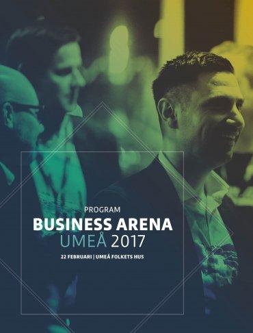Här kan du se programmet för Business Arena Umeå som pdf