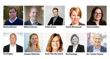 Tio nya namn klara som talare på Business Arena Umeå