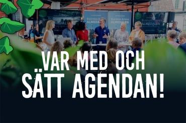 Var med och sätt agendan för Business Arena Almedalen!