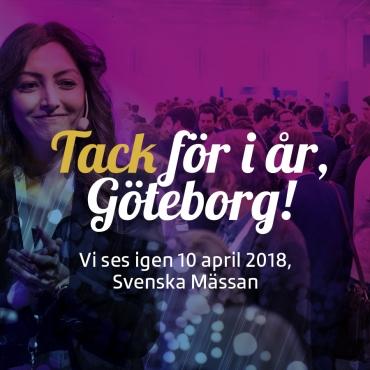 Tack för i år, Göteborg!