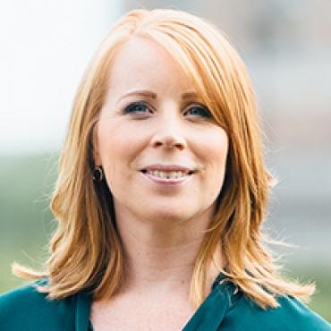 Annie Lööf talar på Business Arena Almedalen