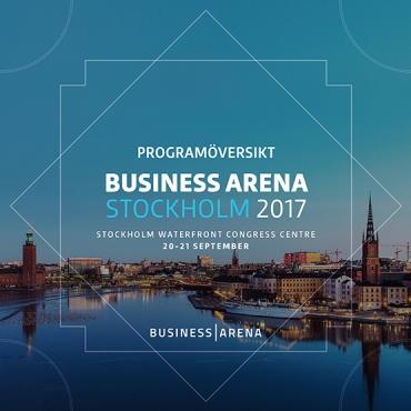 Programöversikten för Business Arena Stockholm klar