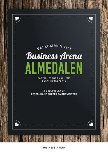 Nu presenterar vi programmet för Business Arena Almedalen
