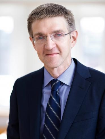 Vice riksbankschefen Martin Flodén talar på Business Arena Stockholm