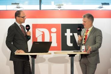 DiTV på plats på Business Arena Stockholm 2017