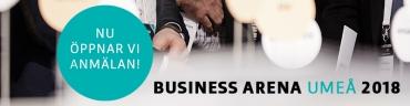 Nu öppnar vi anmälan för Business Arena Umeå