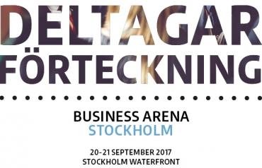 Deltagarförteckning Business Arena Stockholm 2017