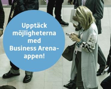 Upptäck möjligheterna med Business Arena-appen