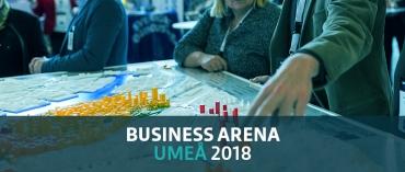 Diskutera norra Sveriges utveckling på Business Arena Umeå