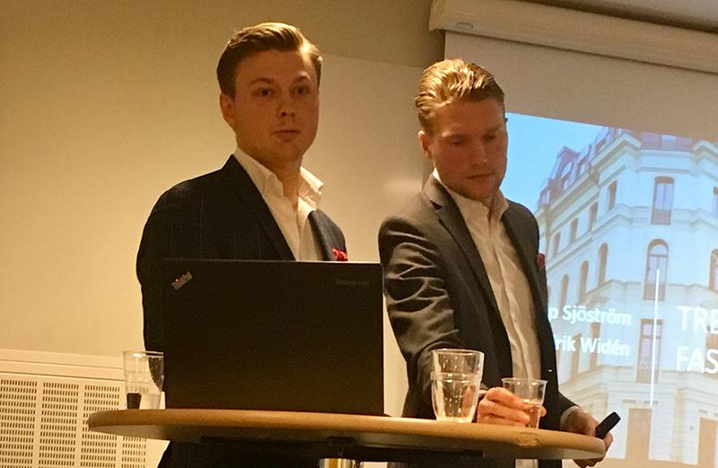 Fredrik Widén och Filip Sjöström.