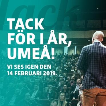 Tack för i år Umeå!