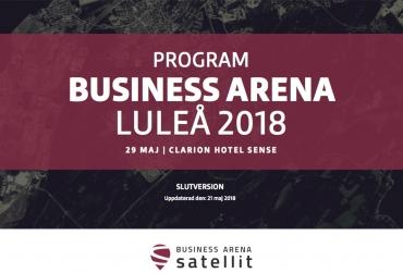 Se det slutgiltiga programmet för Business Arena Luleå