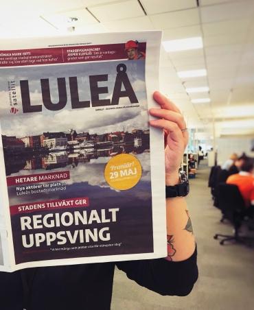 En hel tidning om Luleå
