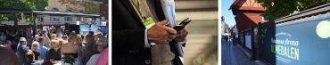 Navigera i Almedalsbruset med Business Arena-appen
