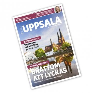 En hel tidning om Uppsala