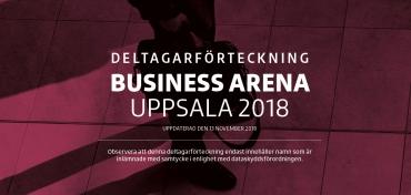 Slutgiltig deltagarförteckning – Uppsala