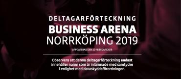 Första deltagarförteckningen för BA Norrköping