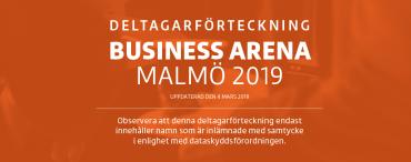 BA Malmö – Deltagarförteckning nummer 1