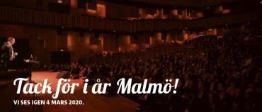Tack för i år Malmö!