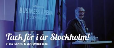 Tack för i år Stockholm!