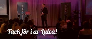 Tack för i år Luleå!