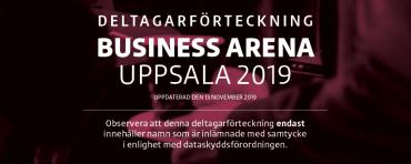 Andra deltagarförteckningen för Business Arena Uppsala