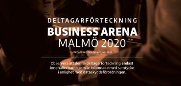 BA Malmö: Första deltagarförteckningen