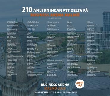 BA Malmö: 210 anledningar