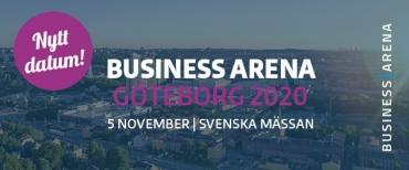 Business Arena Göteborg flyttas fram